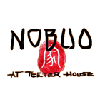 Nobuo at Teeter House