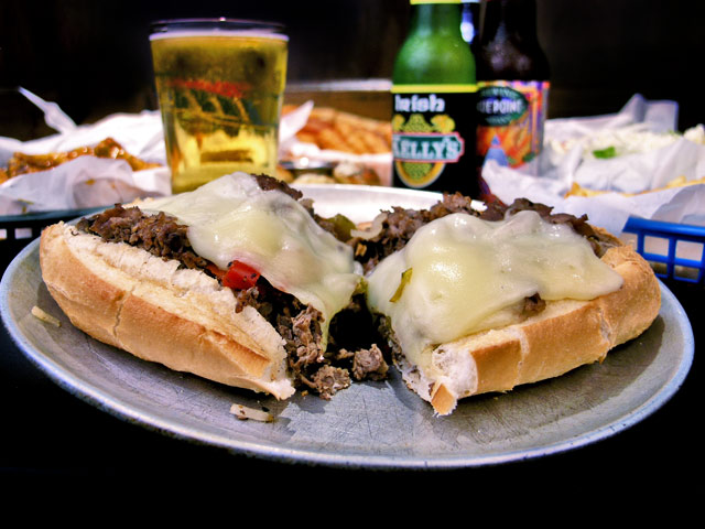 Old-School-Pizza-Melbourne-cheese-steak