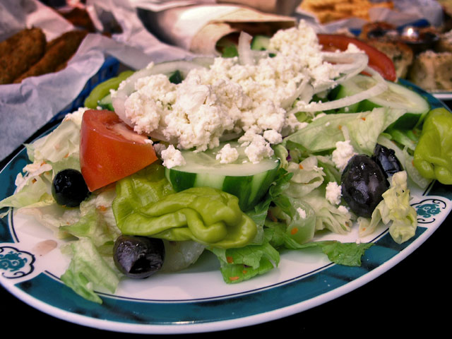 Old-School-Pizza-Melbourne-salad