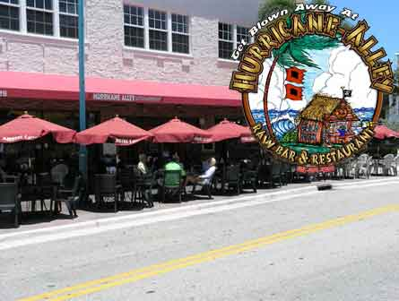 Hurricane Alley Restaurant Boynton Beach Florida