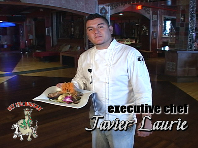 Executive Chef Javier Laurie puts his unique touch to Lamb Chops