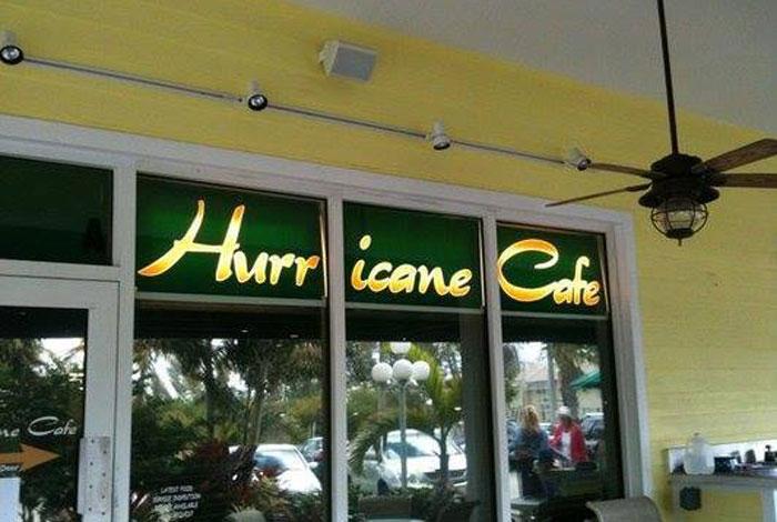 Hurricane Cafe Juno Beach Menu