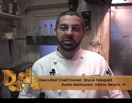Chef Bruce Feingold prepares Crab Brie Penne.