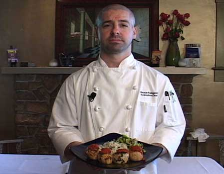Executive Chef Bruce Feingold Prepares His Thyme Buttered Basted Sea Scallops with Sundried Tomato C