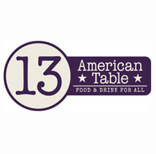 13 American Table